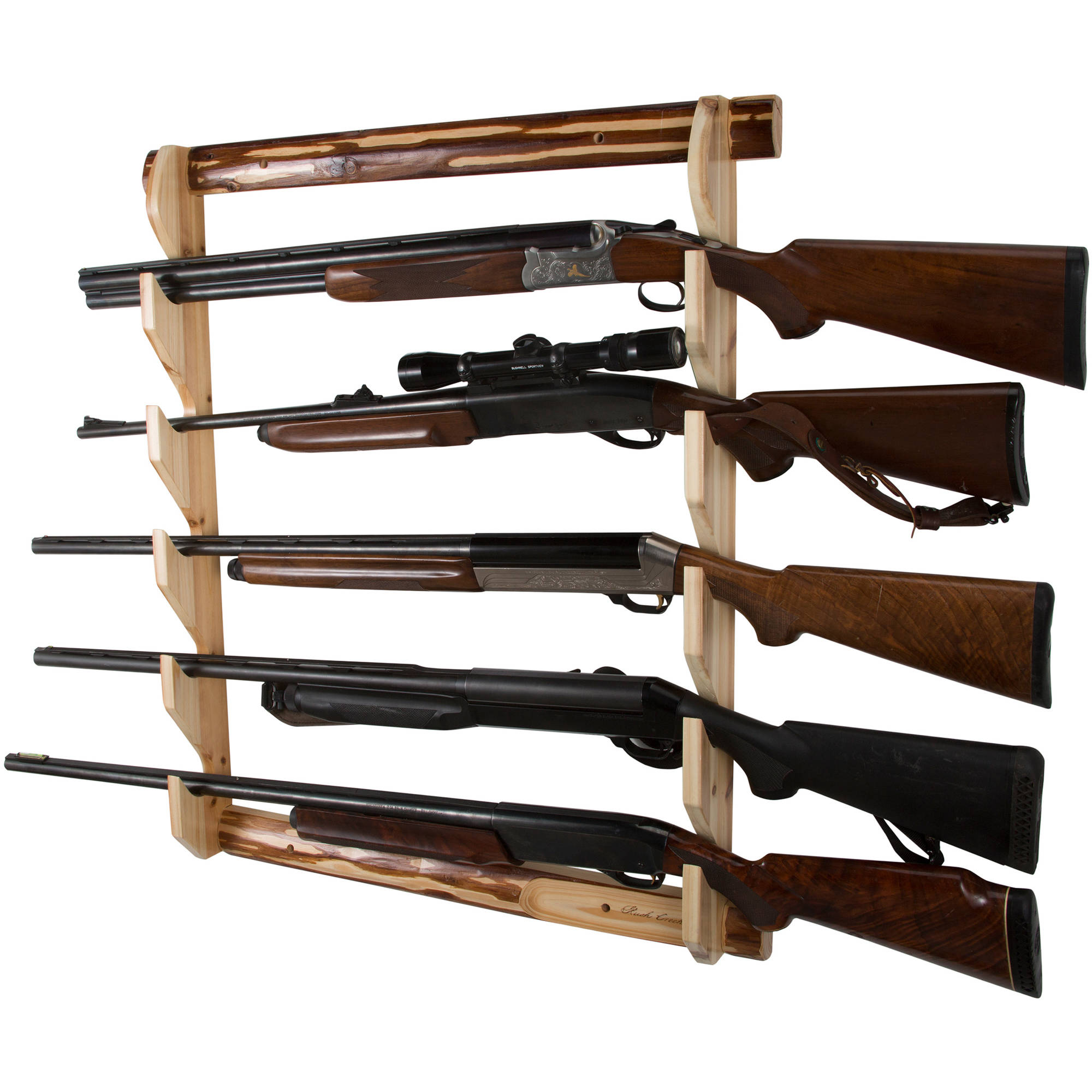 Rush Creek Creations 5 Gun Wall Storage Rack