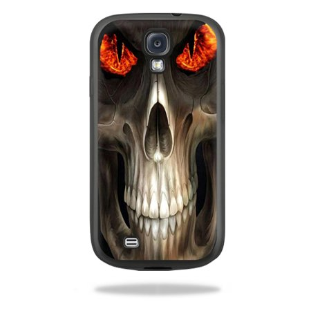 Mightyskins Protective Vinyl Skin Decal Cover for Belkin Grip Sheer Samsung Galaxy S4 Case wrap sticker skins Evil Reaper