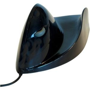 AIRO2BIC MOUSE BLACK ERGONOMIC PC MAC LEFT HAND