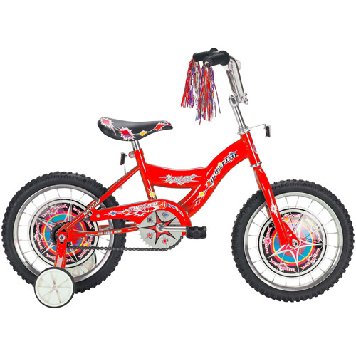 "16"" Micargi Boys' BMX Bike, Red"