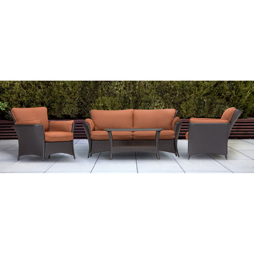 Hanover Strathmere Allure 4-Piece Indoor/Outdoor Lounging Set