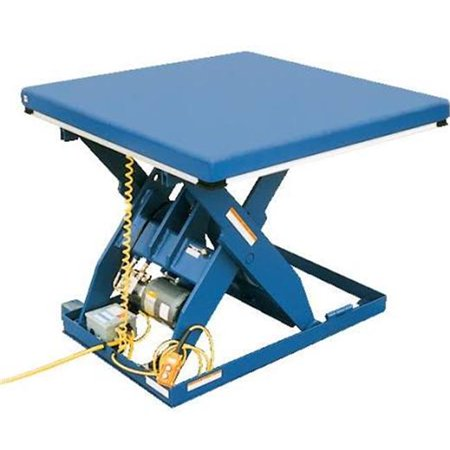 Electric Hydraulic Lift Table, 3000 lbs - 7 x 48 x 108 in.