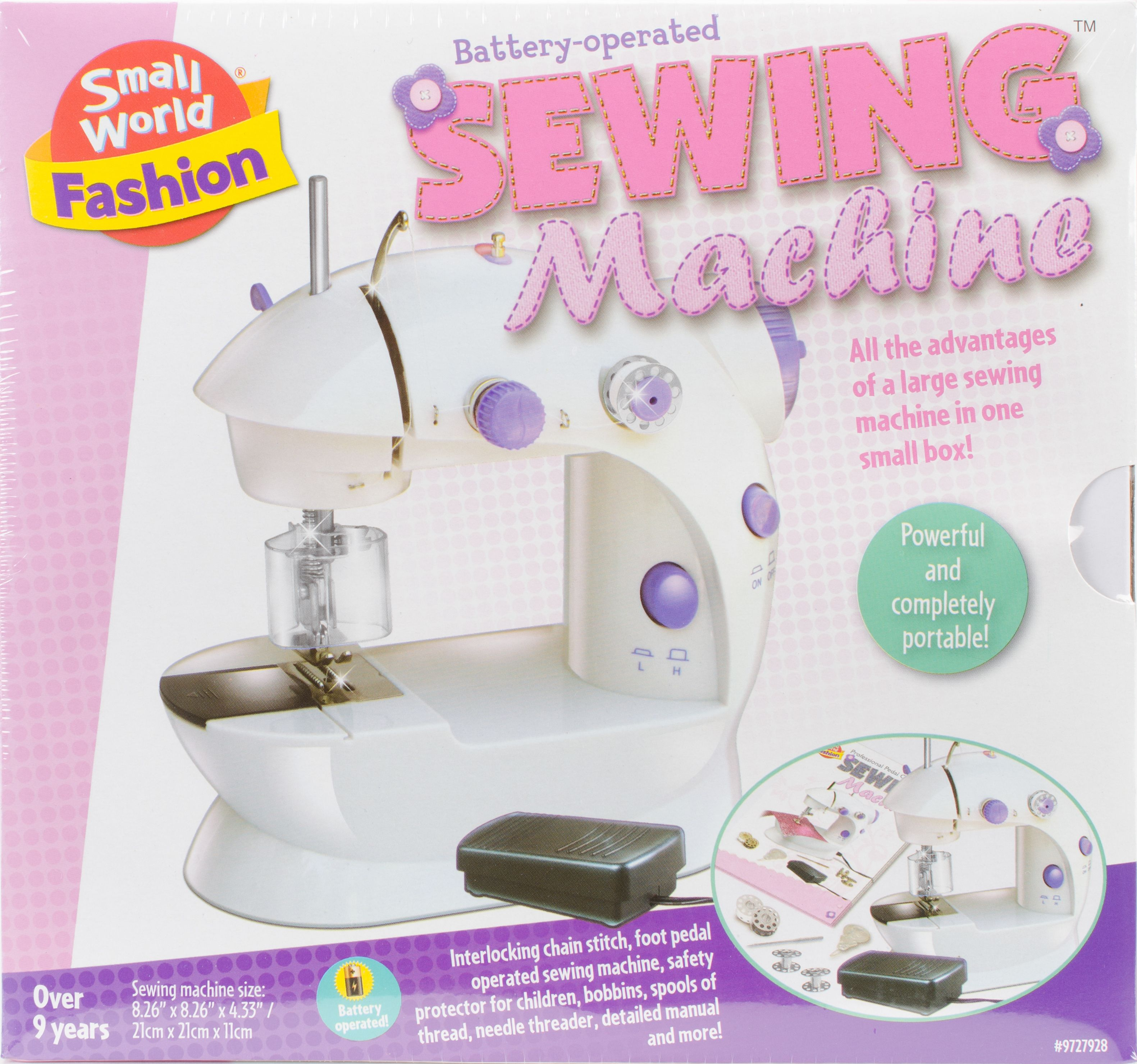 Small World Toys Sewing Machine