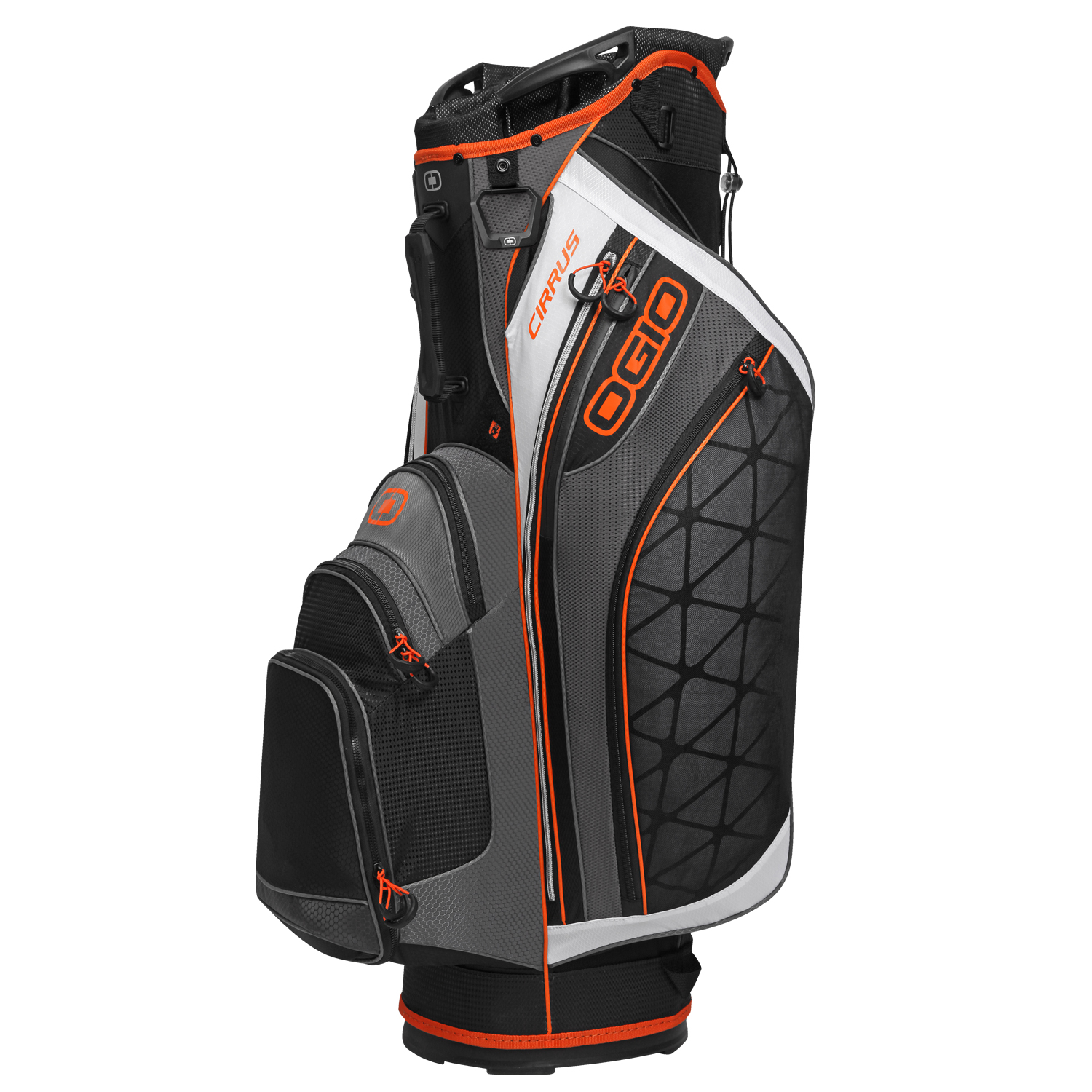 NEW Ogio Golf Cirrus Cart 2015 Bag 14-way Diamond Top UltraLite Black