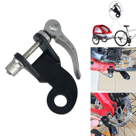 Steel Bicycle Bike Trailer Coupler Attachment Angled Elbow For Burley Trailers