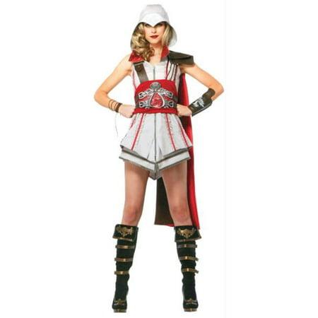 Morris Costumes UAAC85342MD Assassins Creed Ezio Ad Med (Cheap Ezio Costume)