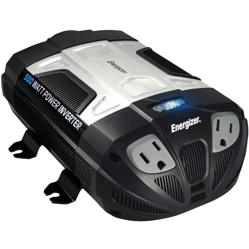 Energizer EN500 12-Volt 500-Watt Power Inverter