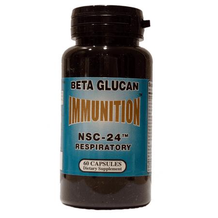 NSC-24 Beta Glucan Respiratory Formula, 60 - Beta Glucan 180 Capsules