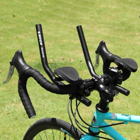 20ab17093e0 Black Mountain Bike Arm Rest Split Type Aluminum Alloy Rest Bar Road ...