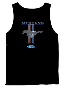 0caaa3805227f Product Image Ford Mustang Tank Top Ford Mustang Pony & Stripes