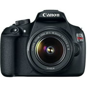 Canon Black EOS Rebel T5 Digital SLR Camera with 18 Megapixels and 18-55mm Zoom Lens Included