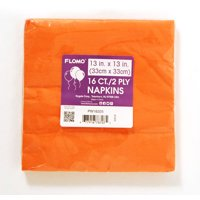 Luncheon Napkins - Orange (16 pieces) Case Pack 36