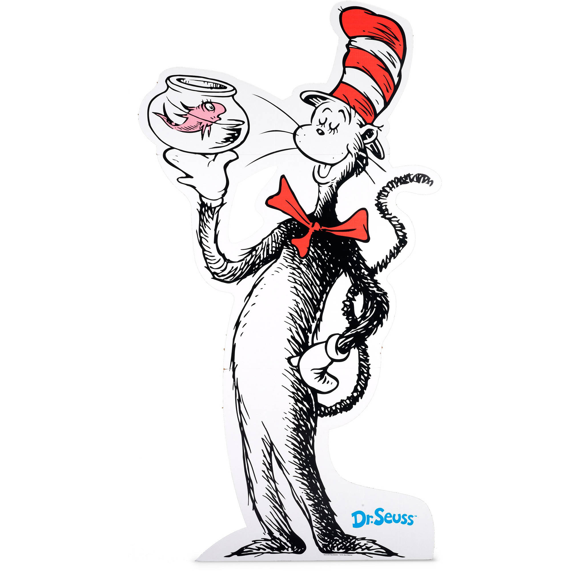 Dr. Seuss Cat in the Hat Standup, 6' Tall