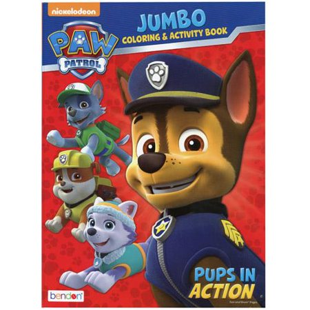 Paw Patrol 96 pg Coloring & Activity Book 2 - Paw Patrol Coloring Games