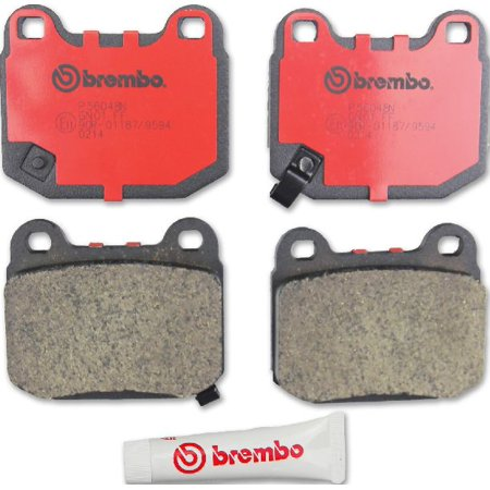 350z Grand Touring - Go-Parts OE Replacement for 2003-2009 Nissan 350Z Rear Disc Brake Pad Set for Nissan 350Z (35th Anniversary Edition / Base / Enthusiast / Grand Touring / Nismo /)