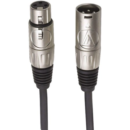 Value Microphone Cables - Audio-Technica AT8313 Value Microphone Cable - 10 Foot (XLRF-XLRM)