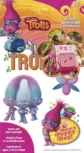 Hallmark Stickers 26 Count Trolls