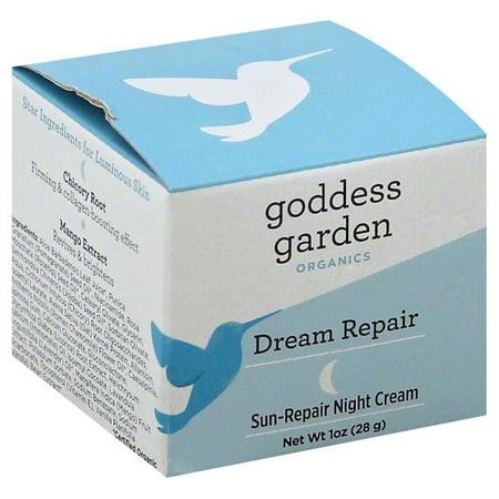 Goddess Garden Organics Dream Repair Sun-Repair Night Cream, 1