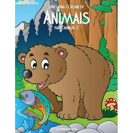 Livro Para Colorir de Animais Para Crianças 2](Halloween Bruxas Para Colorir)