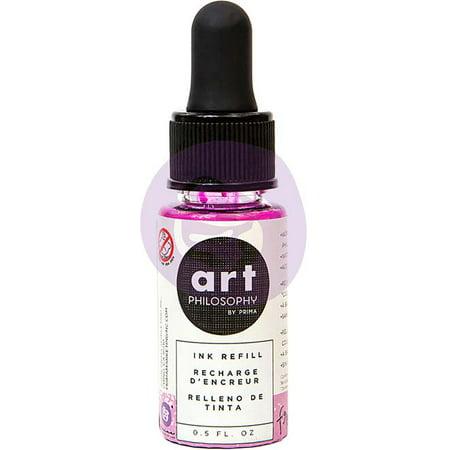 Prima Color Philosophy Dye Ink Refill .5oz-Frosting Adirondack Dye Ink Refill