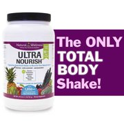 UltraNourish Vegetarian Superfood Shake - Total Body Support for the Liver, Heart and Digestive Health - 26.7oz Natural Wellness 16g Pea Protein Powder Drink Mix - Gluten Free Unsweetened -30 Servings