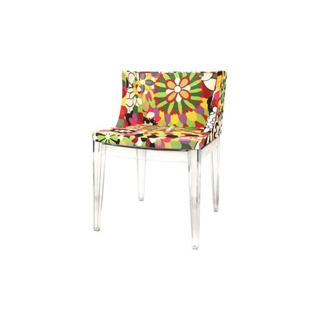Tailored Imports TAC-AC-337CLR Rainrow Chair in Clear