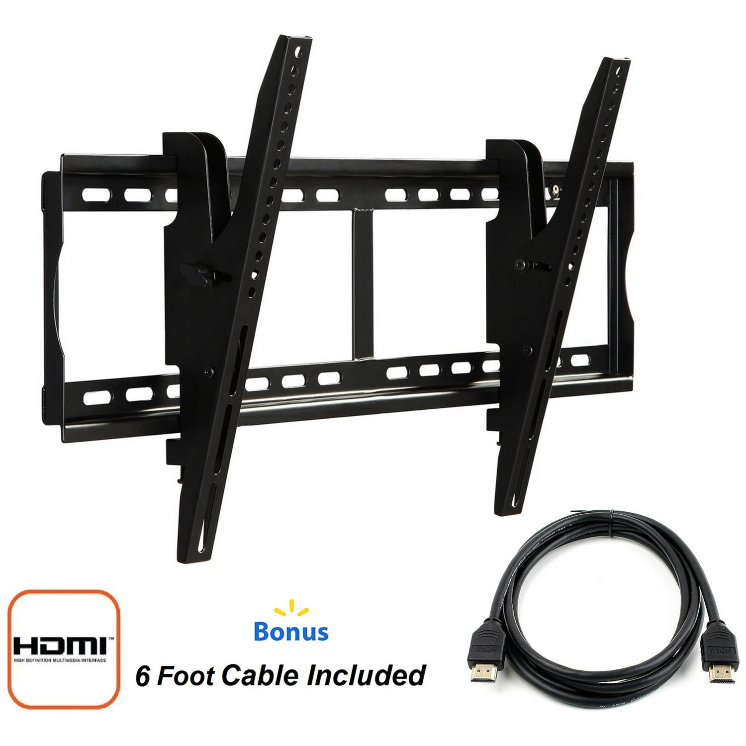 "Atlantic 37""-84"" Tilting Mount with HDMI Cable"