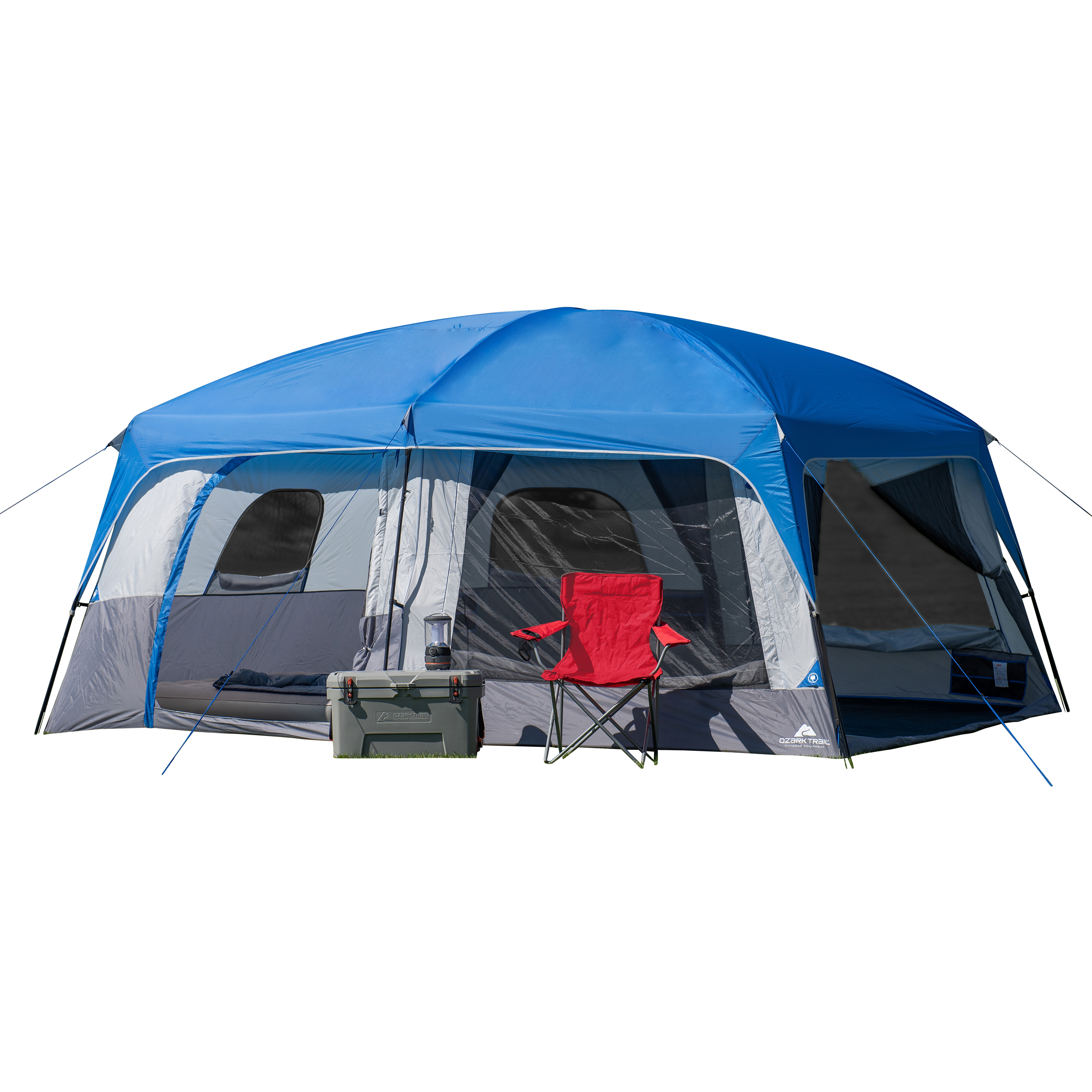 Details about Ozark Trail Hazel Creek 14 Person Family Cabin Tent Portable  Outdoor Camping W