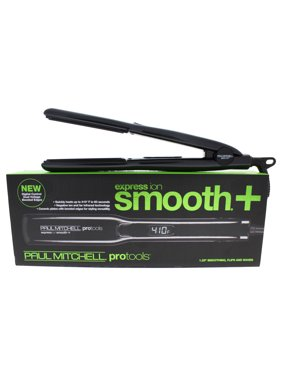 Paul Mitchell Express Ion Smooth Hair Straightening Flat Iron, Black 1.25""