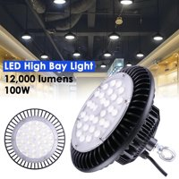 DELight 100W/150W/200W UFO LED High Bay Light Lamp Commercial Industry Factory Workshop Garage