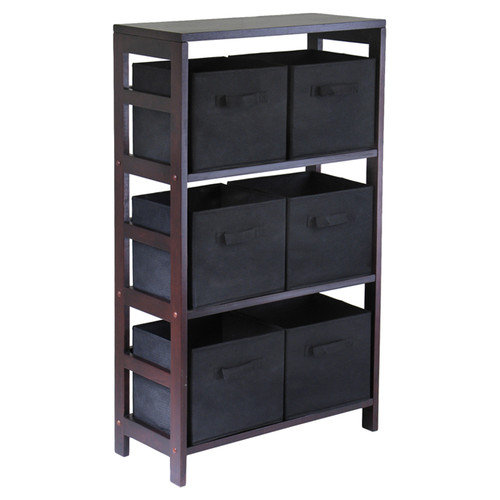 Winsome Capri 6 Drawers Storage Shelf