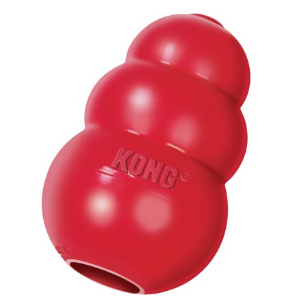 Squirrel Dog Toy (KONG Classic Dog Toy, Medium)