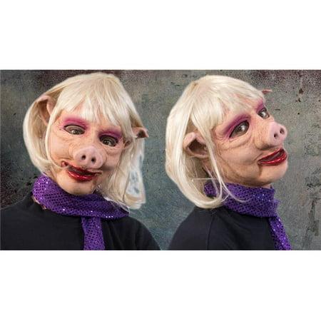 Zagone Studios N1056 Ms. Pig Female Swine Mask for $<!---->