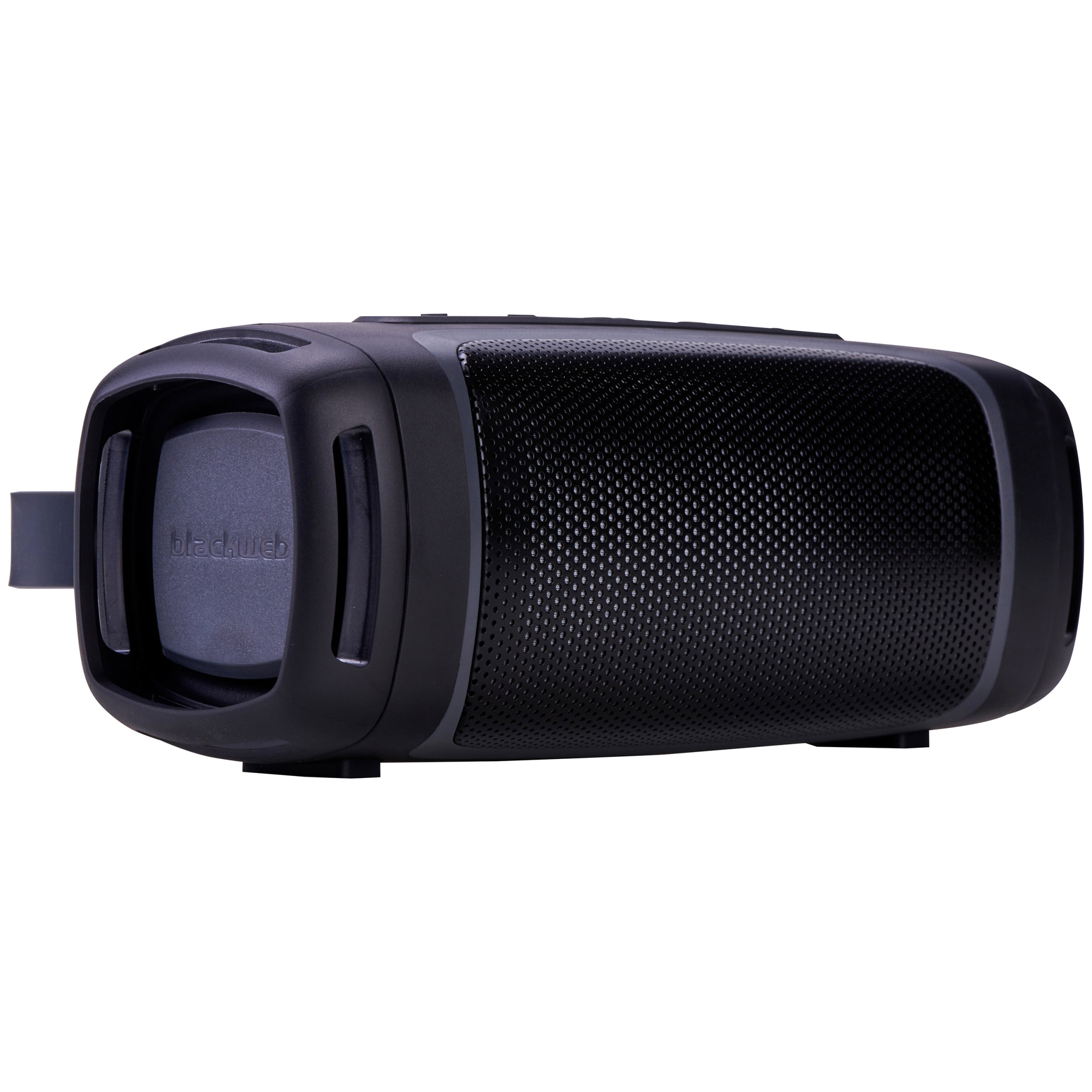 Blackweb Rugged Portable Bluetooth Speaker With Built In