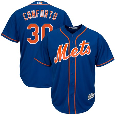 Michael Conforto New York Mets Majestic Alternate Official Cool Base Replica Player Jersey -