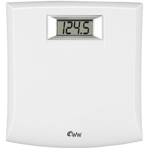 Weight Watchers White Digital Bath Scale