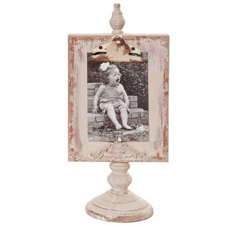 Wilco Home Shabby Elegance Clipboard Tabletop Picture Frame ...
