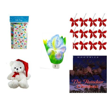 70a2323cfe56 Christmas Fun Gift Bundle  5 Piece  - 2-Pk Lights Cello Bags 20 ...