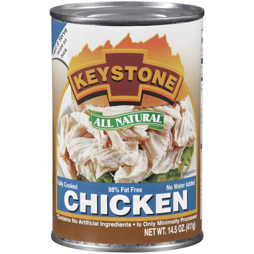 Keystone All Natural Chicken, 14.5 oz