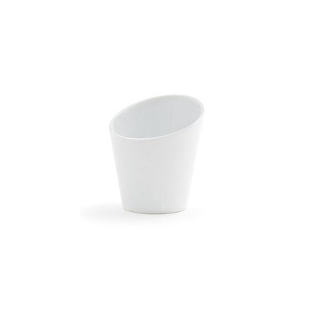 FOH DMU017WHP23 Harmony 6 Ounce Tall Slanted Cup - 12 /