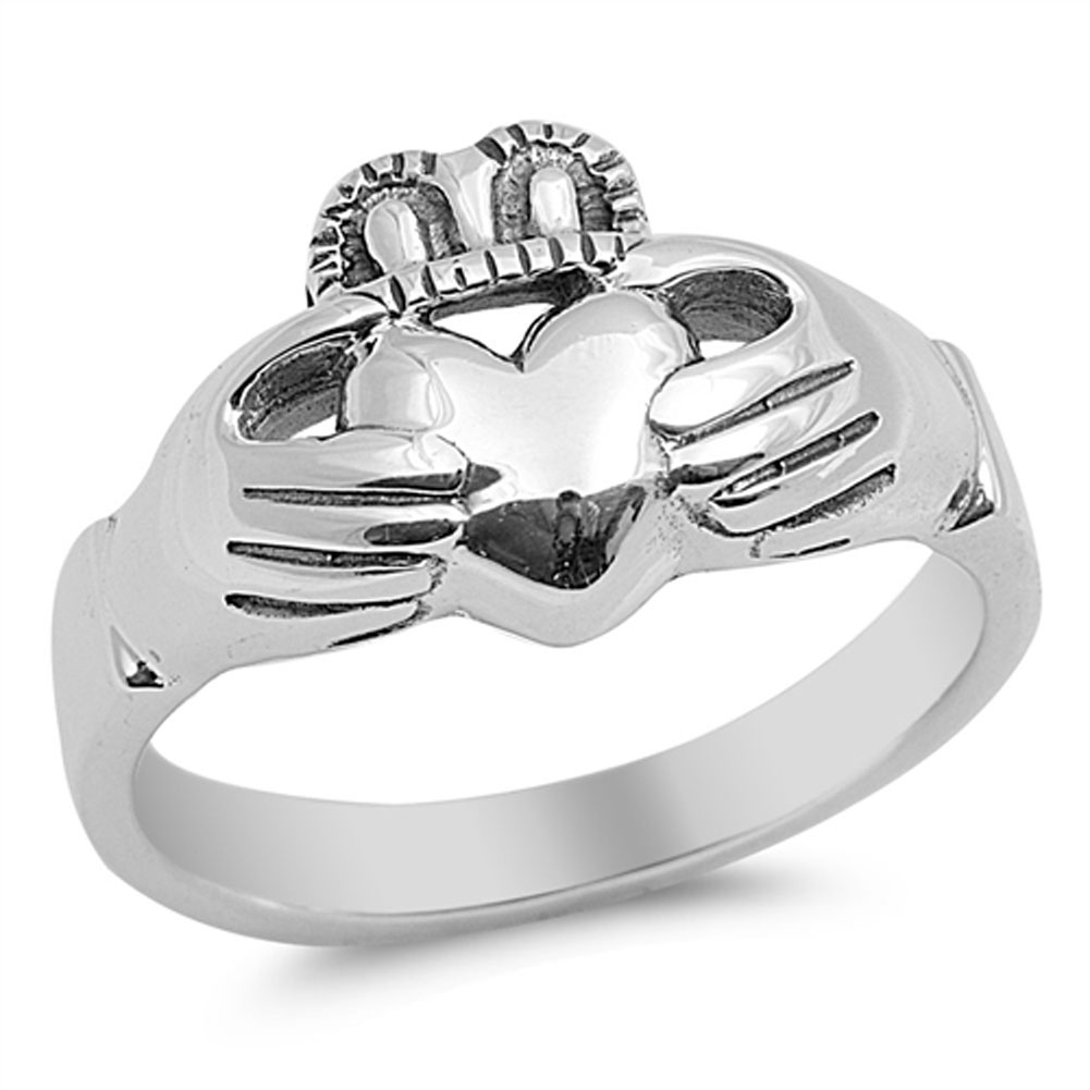 claddagh promise friendship ring sizes 4 5 6 7 8 9