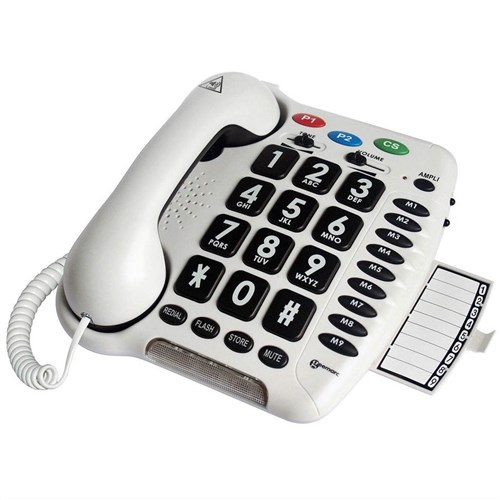 Geemarc AmpliCL100 Amplified Big Button Telephone