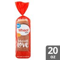Great Value Wheat Bread, 20 oz