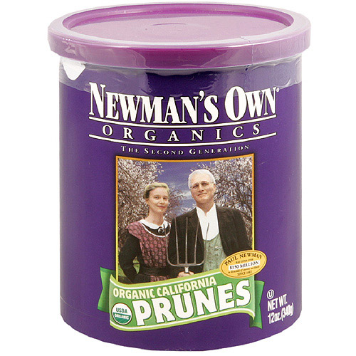 Newman's Own Organics Pitted Prunes, 12 oz (Pack of 12)
