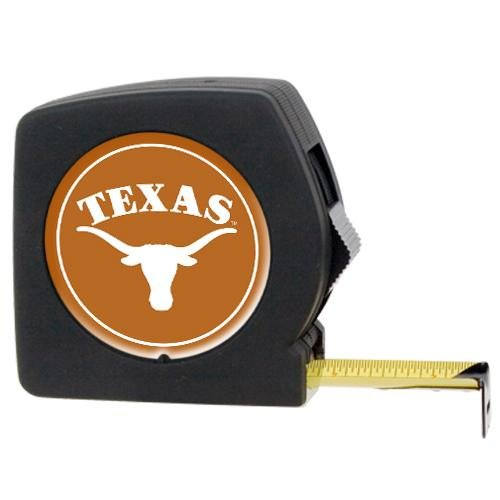 Great American Products U OF TEXAS 25ft Black Tape Measure