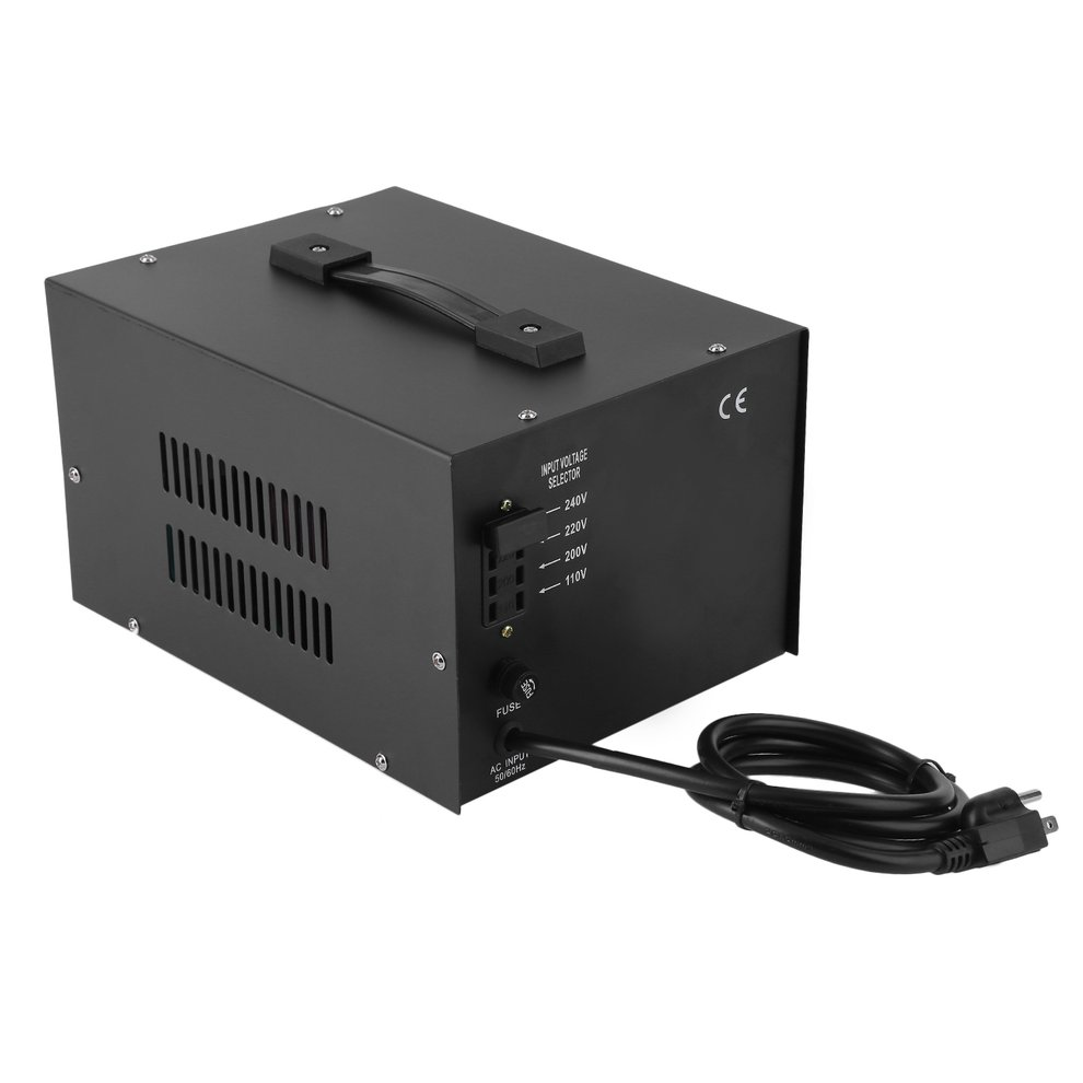 3000W Step Up/Down Electrical Power Voltage Converter Tra...