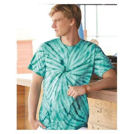 Dyenomite T-Shirts Cyclone Pinwheel Short Sleeve T-Shirt - Pink Halloween Line