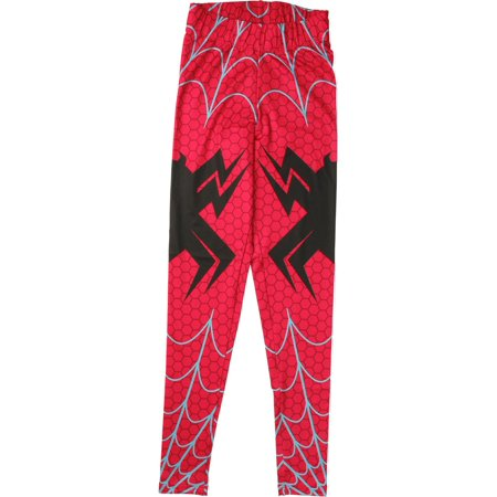 Spiderman Spider-Gwen Webbing Open Leggings - Spiderman Leggings