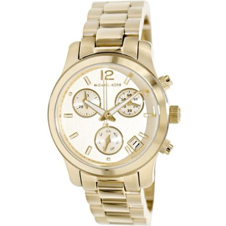 Michael Kors Women's Mini Runway Chronograph Watch MK5384