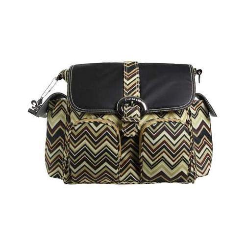 "Women's Kalencom Double Duty Diaper Bag  13"" x 13"" x 6"""